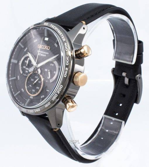 Seiko Chronograph SSB361P SSB361P1 SSB361 Tachymeter Quartz Men's Watch