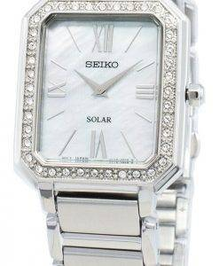 Seiko Conceptual SUP427P SUP427P1 SUP427 Diamond Accents Solar Women's Watch