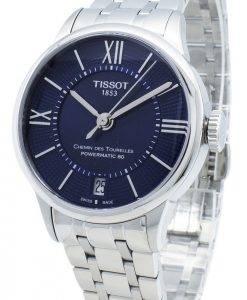 TISSOT Chemin Des Tourelles T099.207.11.048.00 T0992071104800 23 Jewels Automatic Women's Watch
