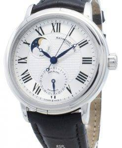 Refurbished Raymond Weil Maestro 2839-STC-00659 Moon Phase Automatic Men's Watch