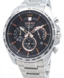 Refurbished Seiko Chronograph SSB307 SSB307P1 SSB307P Tachymeter Quartz Men's Watch