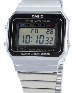 Casio Youth Digital A700W-1A A700W-1 Alarm Quartz Men's Watch