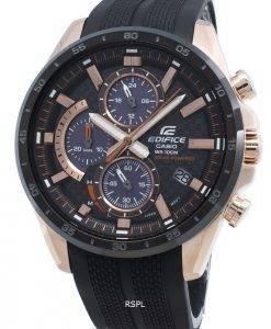 Casio Edifice EQS-900PB-1AV EQS900PB-1Av Chronograph Solar Men's Watch