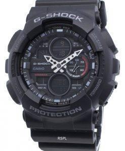 Casio G-Shock GA-140-1A1 GA140-1A1 Quartz World Time Men's Watch