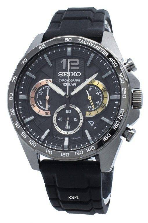 Seiko Chronograph SSB349 SSB349P1 SSB349P Tachymeter Quartz Men's Watch
