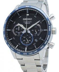 Seiko Chronograph SSB357 SSB357P1 SSB357P Tachymeter Quartz Men's Watch
