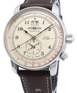Zeppelin LZ126 Los Angeles 8644-5 86445 Quartz Pulsometer Men's Watch
