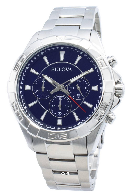 Bulova 96A215 Chronograph Quartz Men's Watch