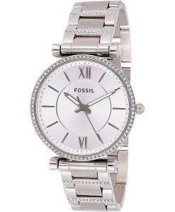 Fossil Carlie ES4341 Diamond Accents Quartz Women's Watch