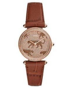 Fossil Lyric ES4683 Diamond Accents Quartz Women's Watch