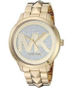 Michael Kors Runway Mercer MK6714 Diamond Accents Quartz Women's Watch