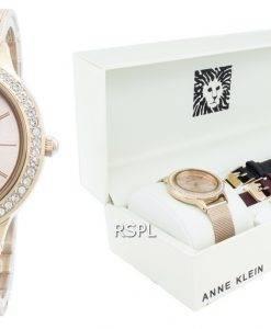 Anne Klein 3418RGST Diamond Accent Quartz Women's Watch