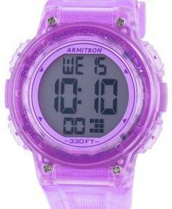 Armitron Sport 457086TPR Quartz Women's Watch