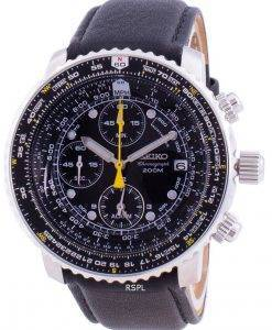 Seiko Pilot's Flight SNA411P1-VAR-LS10 Quartz Chronograph 200M Men's Watch