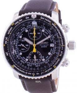 Seiko Pilot's Flight SNA411P1-VAR-LS11 Quartz Chronograph 200M Men's Watch