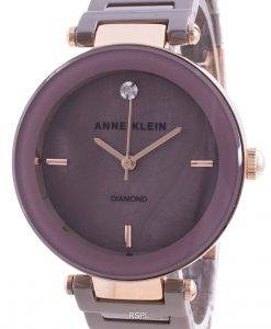 Anne Klein 1018RGMV Quartz Diamond Accents Women's Watch