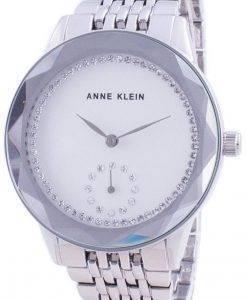 Anne Klein Swarovski Crystal Accented 3507SVSV Quartz Women's Watch